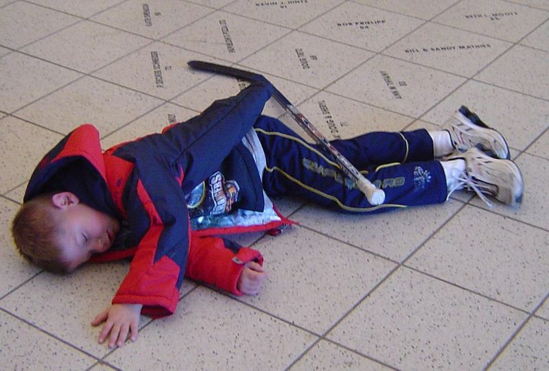 Quinn's Hockey Nap